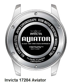 Invicta 17204 Aviator - back