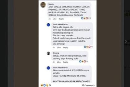 Gegara Jokowi Keok di Sumbar, Muncul Aksi Boikot Rumah Makan Padang
