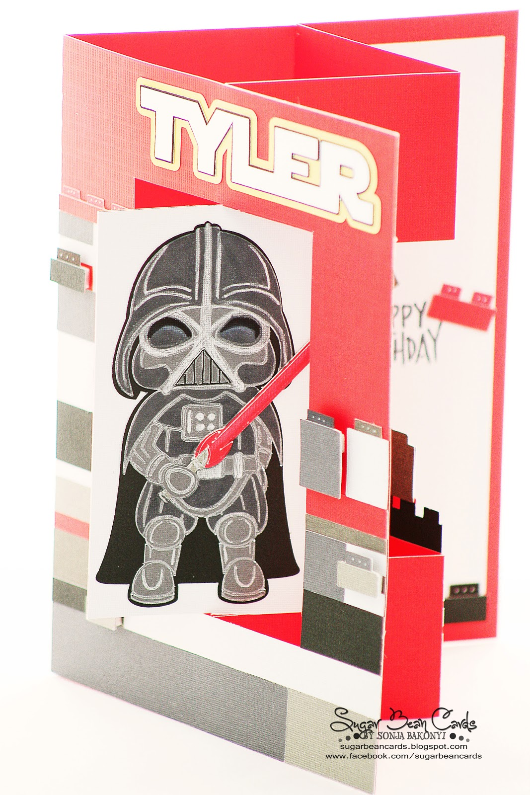 Star Wars Birthday Card Sugar Bean Cards – Lego Star Wars Birthday Cards