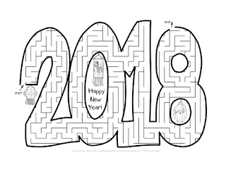 The Puzzle Den - 2018 New Year's Maze