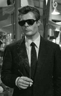 Mastroianni starred in Fellini's iconic movie La Dolce Vita