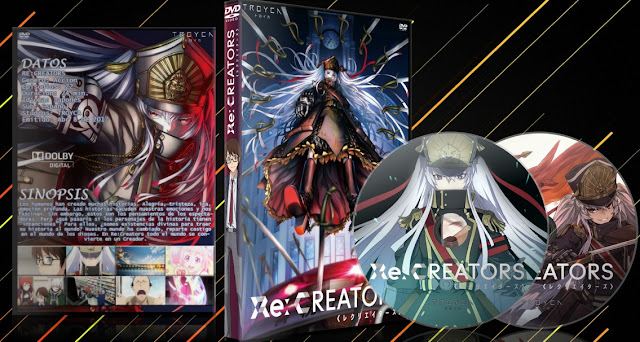 Re:Creators | Cover DVD |