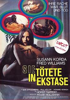 SIE TOTETE IN EKSTASE aka CRIMES DANS L'EXTASE film érotique horreur de Jess Franco avec Soledad Miranda