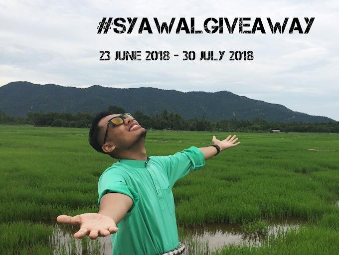 "#SyawalGiveaway - My First Giveaway"""
