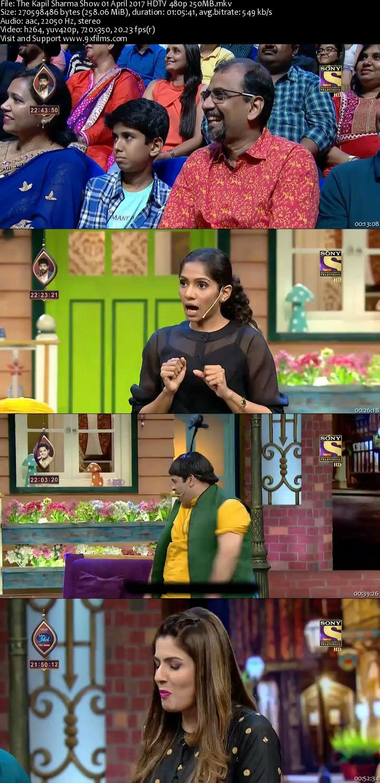The Kapil Sharma Show 01 April 2017 HDTV 480p