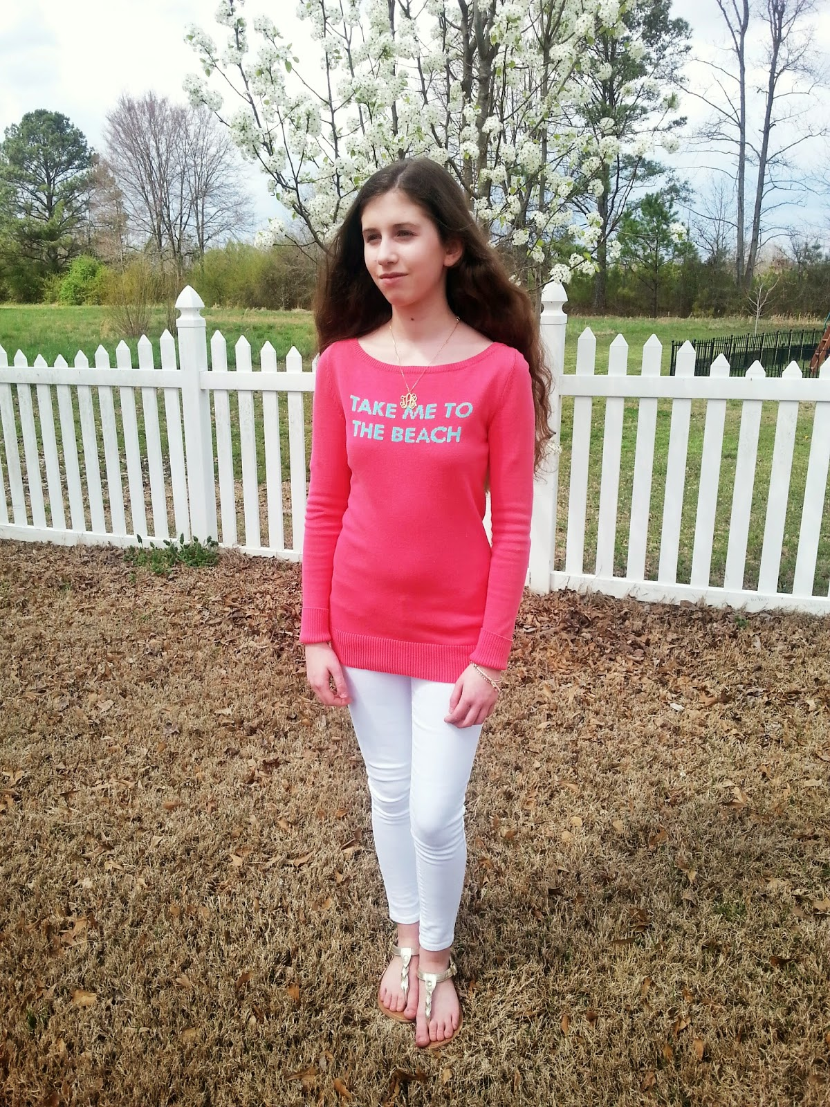 Lilly Pulitzer & White Jeans