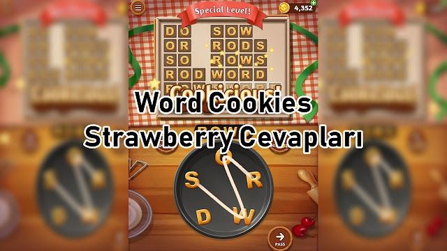 Word Cookies Strawberry Cevaplari
