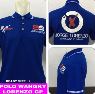 Baju Polo Lorenzo 2 (Berkerah)