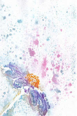 Simple Flower Watercolor Art