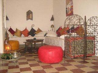 Sala estilo árabe