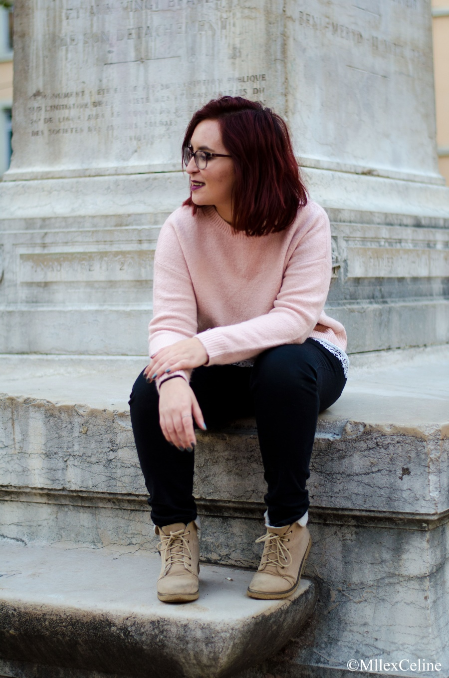 look girly rose poudre pull primark blog mode beaute lifestyle lyon