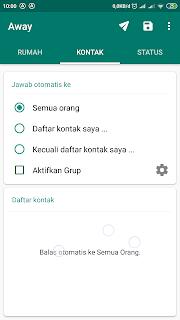 kontak yang dapat menerima pesan balasan otomatis whatsapp