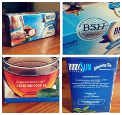 BSH Tea Body Slim Herbal Tea