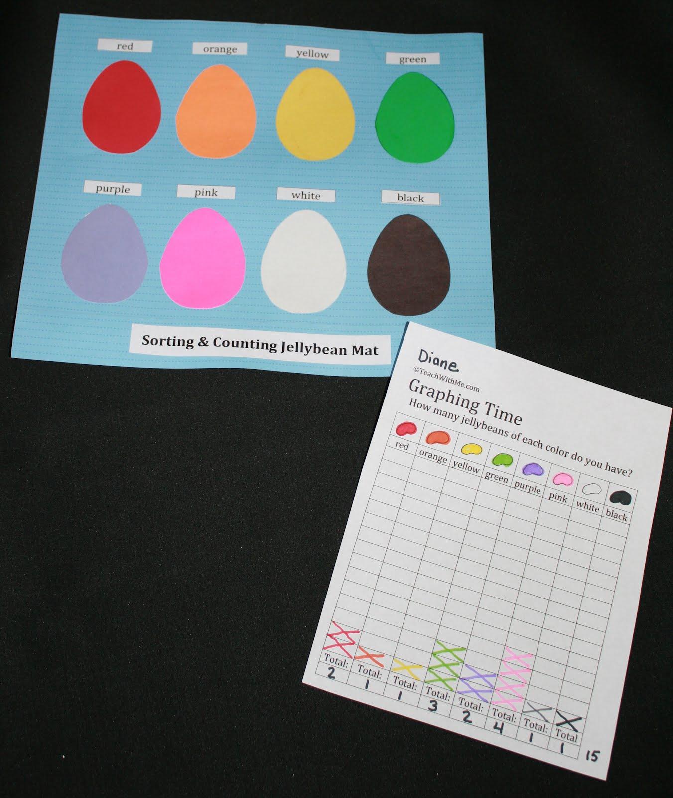 Classroom Freebies Too Jellybean Activities Packet