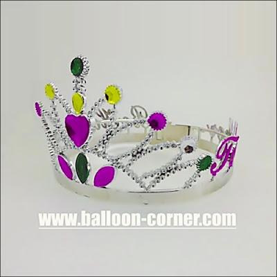 Mahkota Ratu BE HAPPY TOGETHER Untuk Pesta Ulang Tahun Dewasa