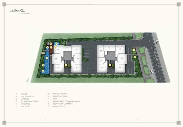 The Orient @ Pasir Panjang Siteplan