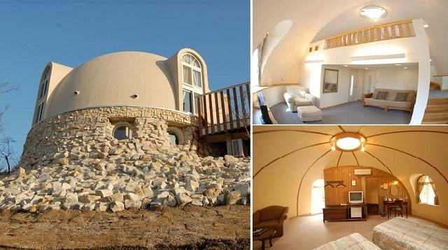 Beautiful Earth Homes And Monolithic Dome House Designs