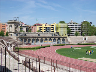 The Arena Civica in Milan was renamed Arena Gianni Brera