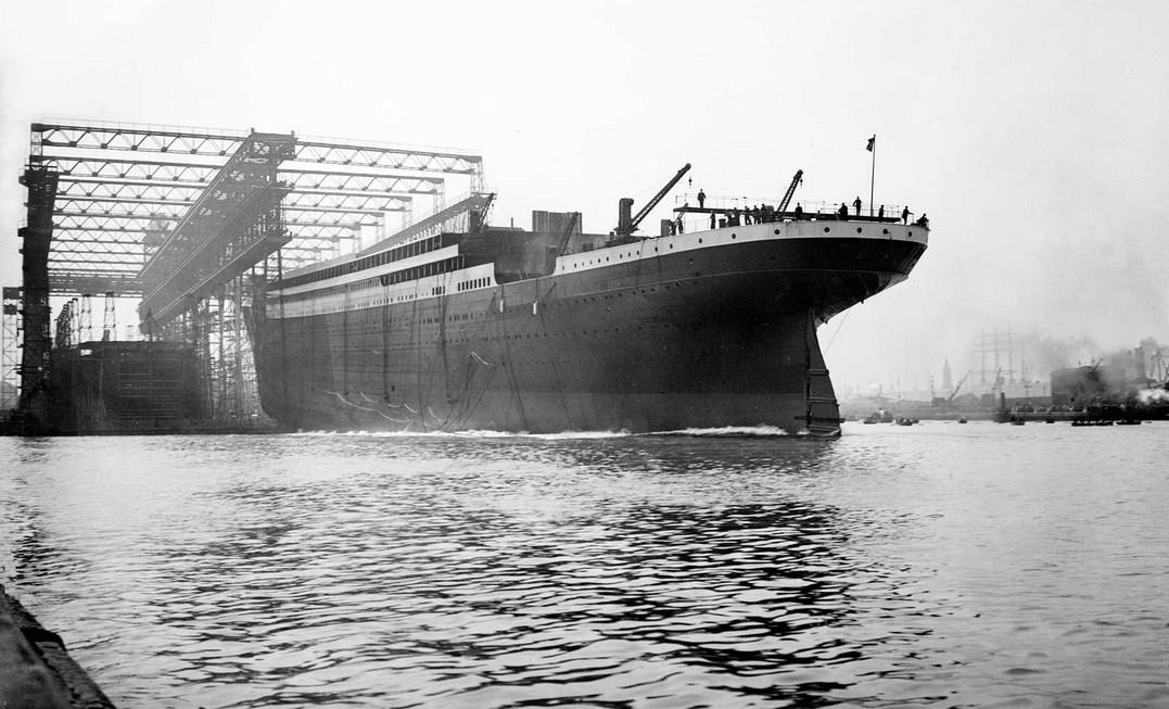 pembuatan kapal tetanic