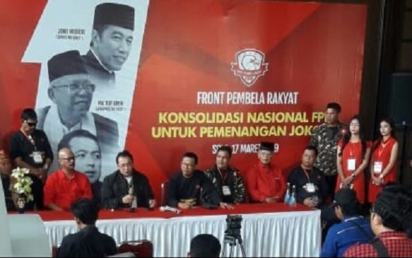 FPR Menyelenggarakan Konsolidasi Nasional Pemenangan Jokowi - Ma'ruf