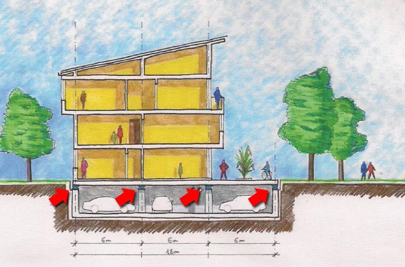 Quanto costa una casa antisismica legno muratura for Fondazioni per case in legno