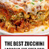 The Best Zucchini Lasagna I've Ever Had #lasagna #zucchinilasagna