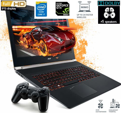 Best 17.3-Inch Gaming Laptop Category for $1500 / $1600 by  Acer