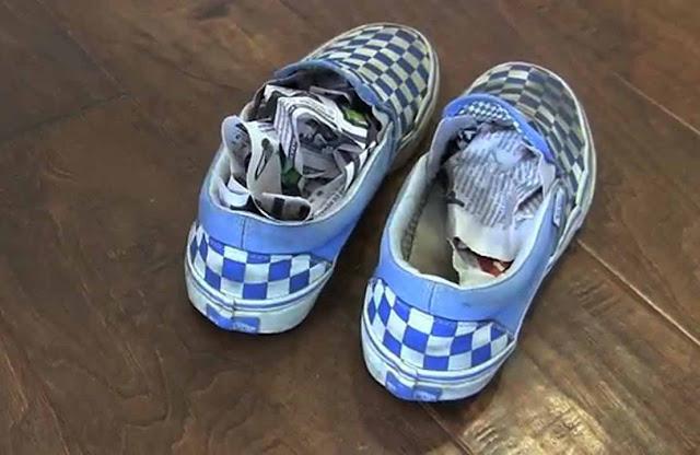 Cara Menghilangkan Bau Sepatu Dengan Bahan Alami