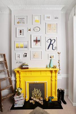 chimena en amarillo