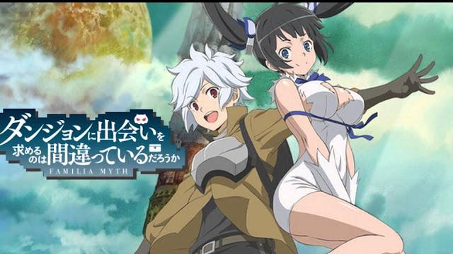 DanMachi Episode 1-13 (End) Subtitle Indonesia