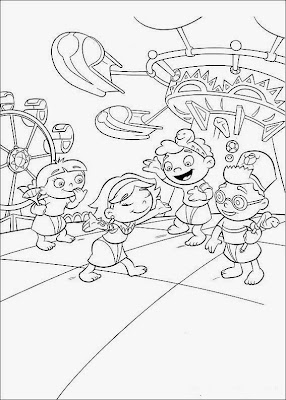 little einstein rocket ship coloring pages | Little Einsteins Coloring Pages Characters – Colorings.net