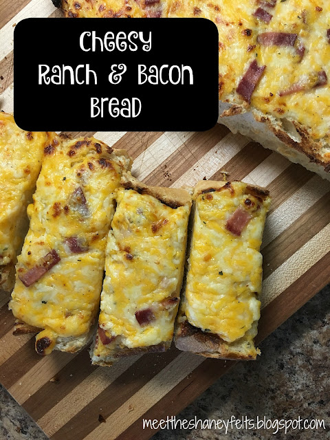 cheesy ranch & bacon bread