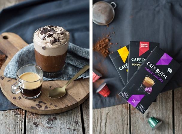 Mousse au Chocolat + Café Royal
