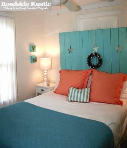 Christmas cottage decor bedroom