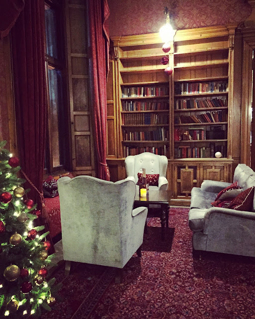 The Library at Thoresby Hall, Nottinghamshire