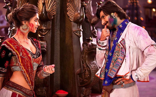 Deepika Padukone and Ranveer Singh Romantic Secene HD Images