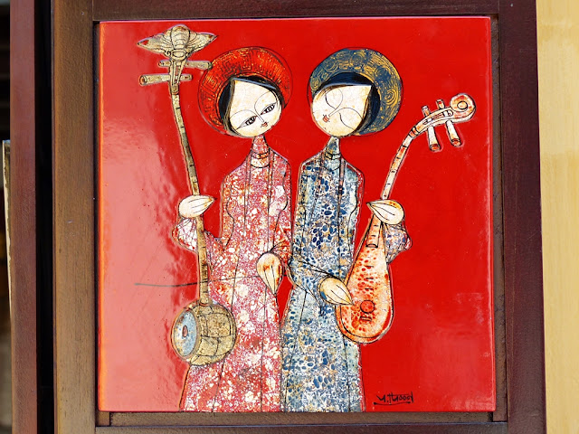 Vietnamese painting for sale in Hoi An