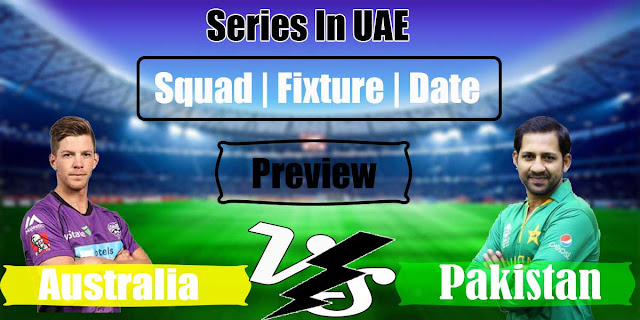 Pak Vs Aus series detail