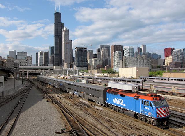 Metra Chicago - Transporte Público