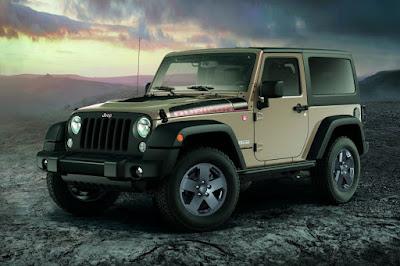 Jeep Wrangler Rubicon Recon 2 Door (2017) Front Side