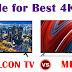 Battle For The Best 4K TV, iFFALCON Vs Mi TVs