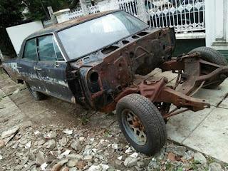 Dijual Bahan Muscl Car Pontiac GTO 1966