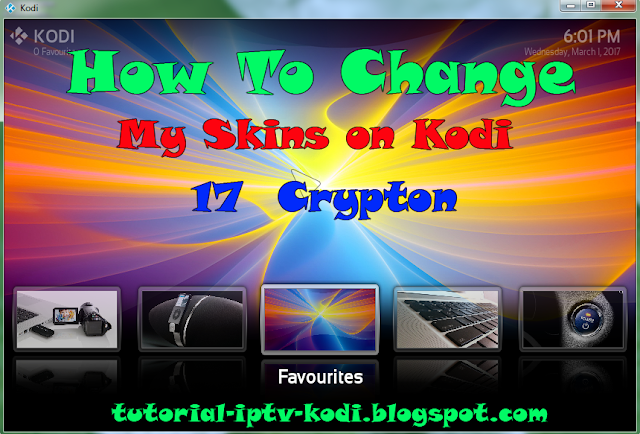 Changed to new Skin for Kodi 17 crypton