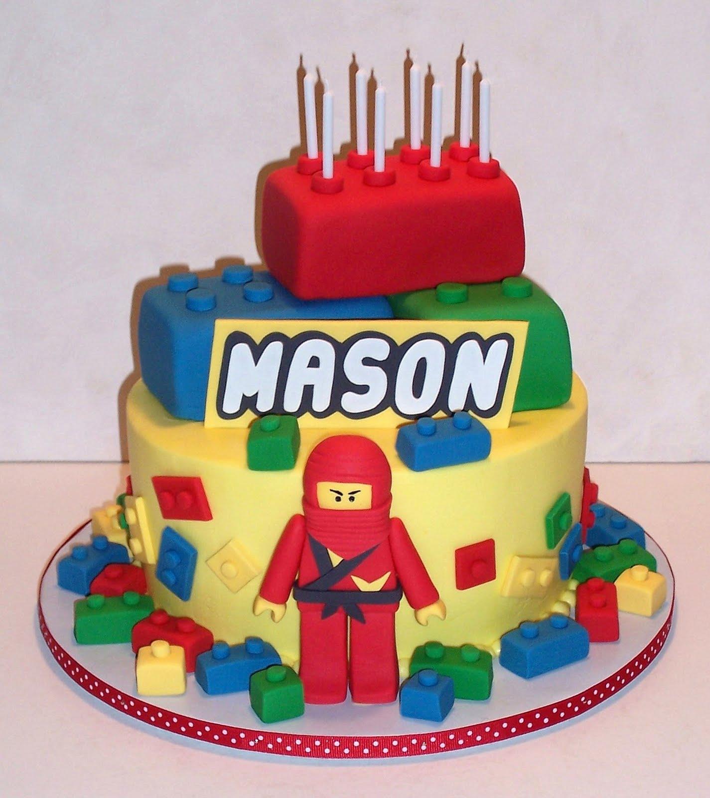 Birthday Bash Lego Cake Ninjago Cake Lego Birthday Cake