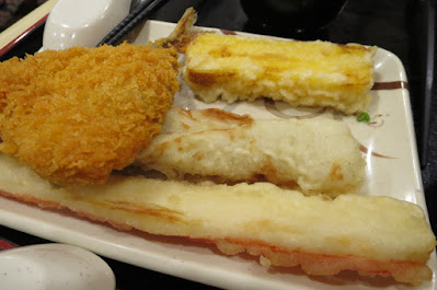 Tamoya Udon, tempura