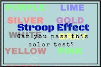 Stroop Effect-Can you pass this color test?