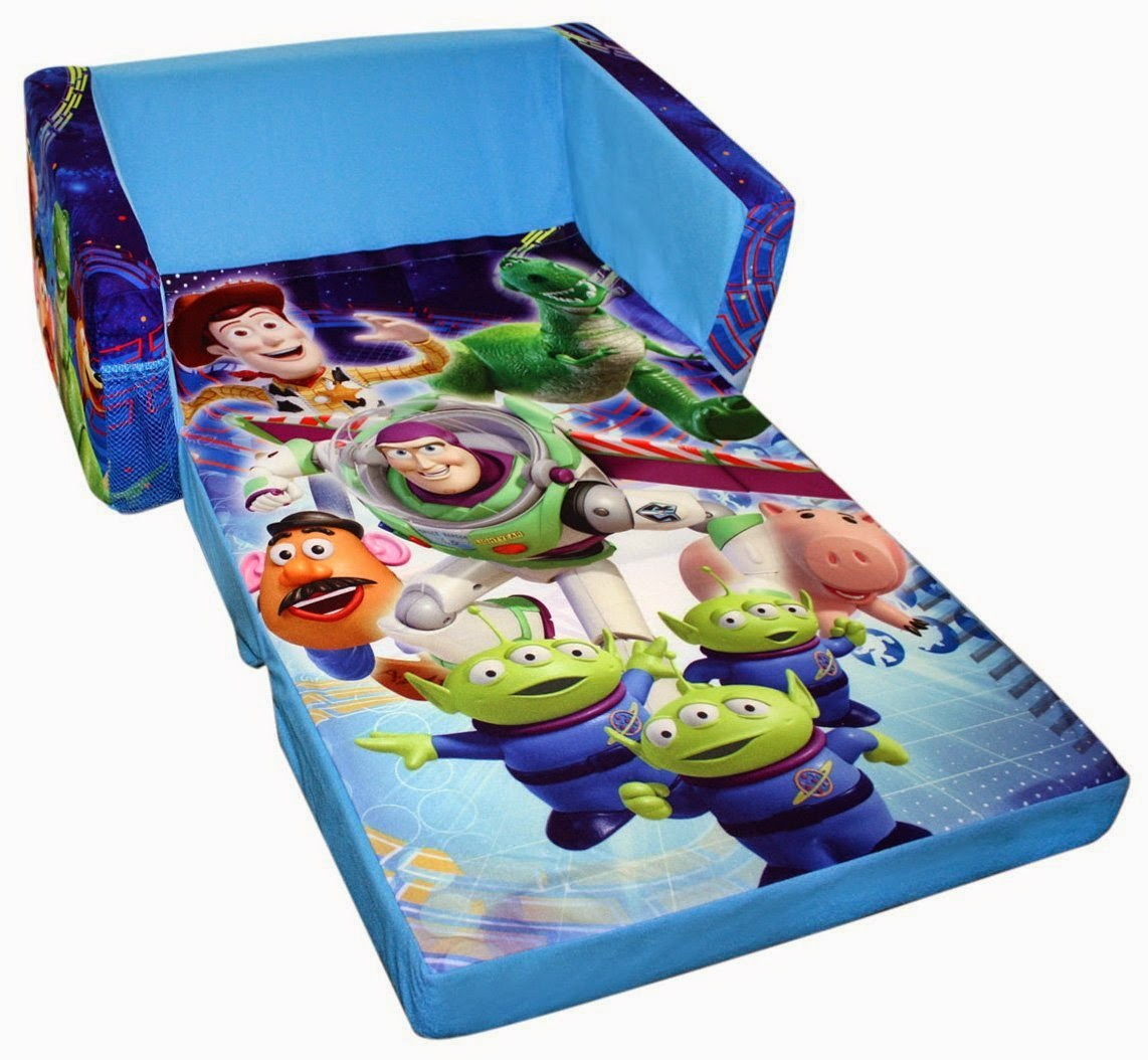 disney flip open sofa bed long arm covers fold out couch toddler
