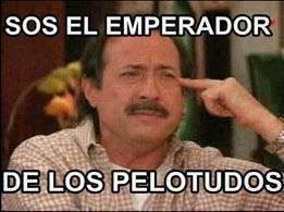 """Guillermo Francella """"Sos el emperador de los pelotudos"""""""