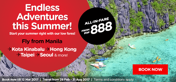 Air Asia Promo 2017