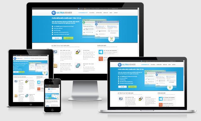 Các Template Blogger Landing Page đẹp và miễn phí